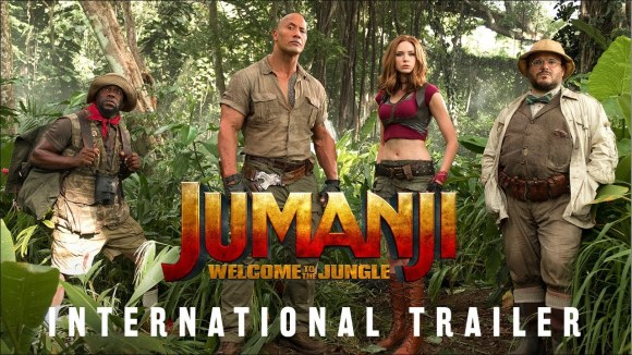 Jumanji: Welcome to the Jungle - HD Trailer