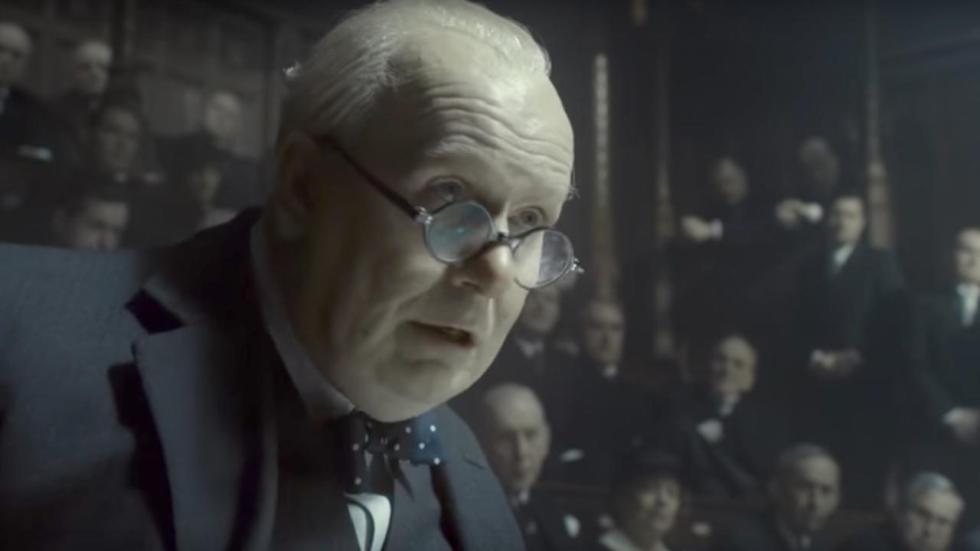 Nieuwe trailer 'Darkest Hour': Gary Oldman gaat voor de Oscar!