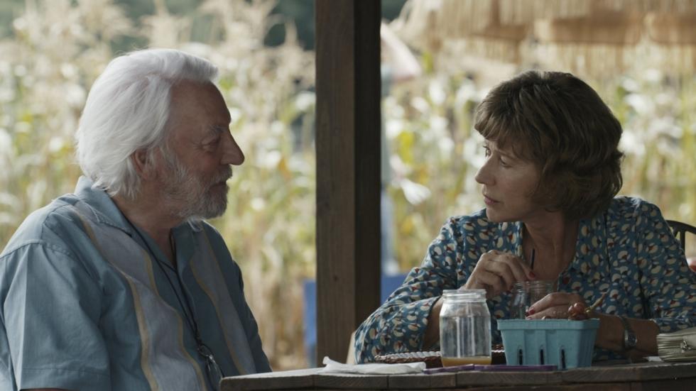 Helen Mirren & Donald Sutherland zijn ziek in trailer 'The Leisure Seeker'