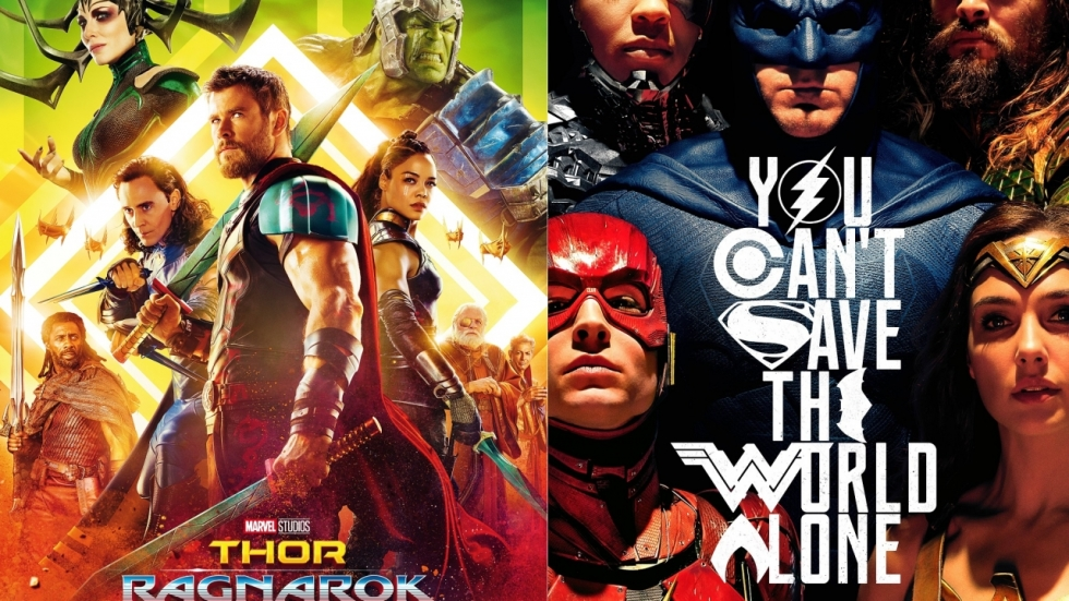 POLL: 'Thor: Ragnarok' vs. 'Justice League'