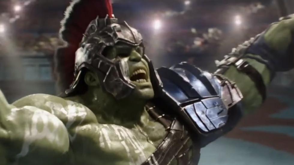 Hulk gaat los in 'Thor Ragnarok' clip!