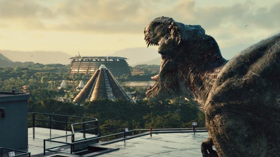 Nieuwe banner hint naar terugkeer 'Jurassic World: Fallen Kingdom'