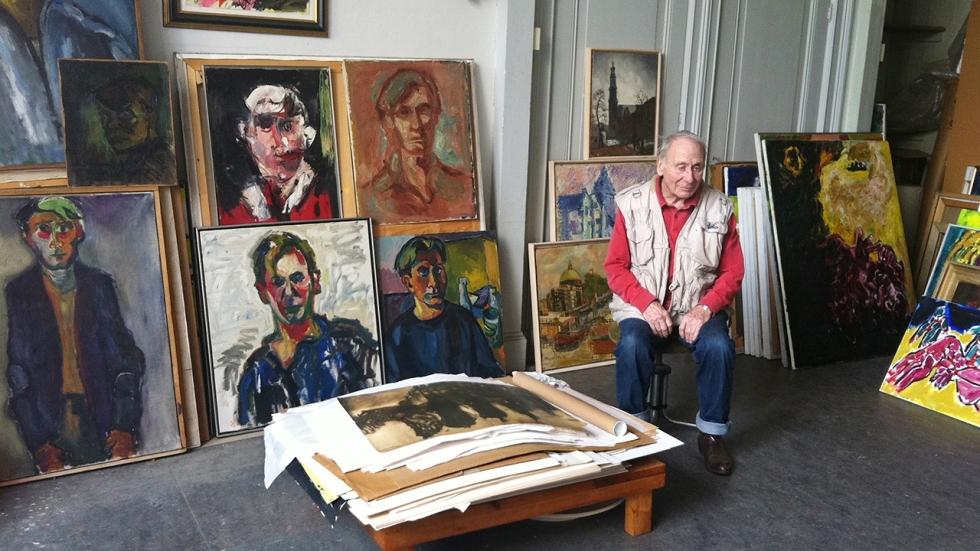 Jan Sierhuis, Zelfportret