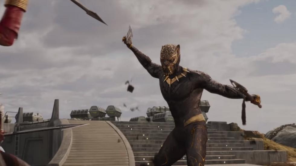 Krachtige trailer 'Black Panther'!