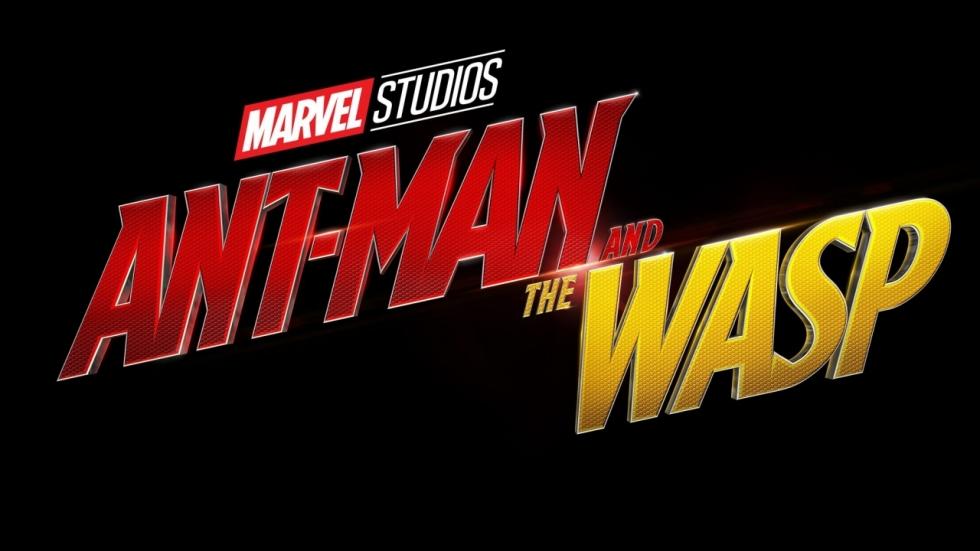 Titelhelden op foto 'Ant-Man and the Wasp' in kostuum