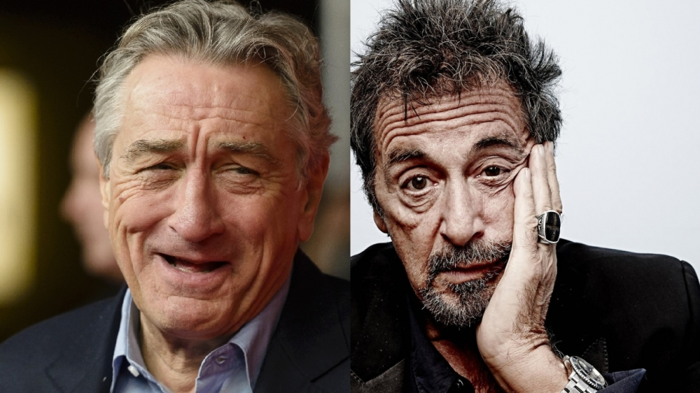 Al Pacino en Robert De Niro samen op foto 'The Irishman'!