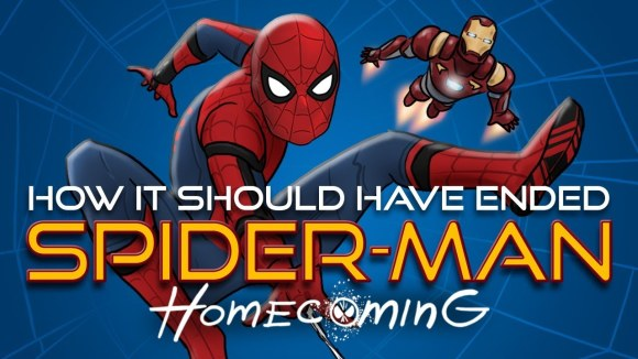 How It Should Have Ended - How spider-man homecoming should have ended
