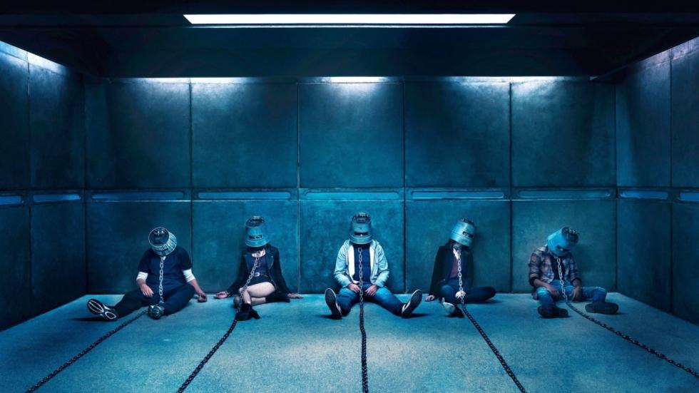 Inventieve en gruwelijke vallen in clips en TV-spots 'Jigsaw'