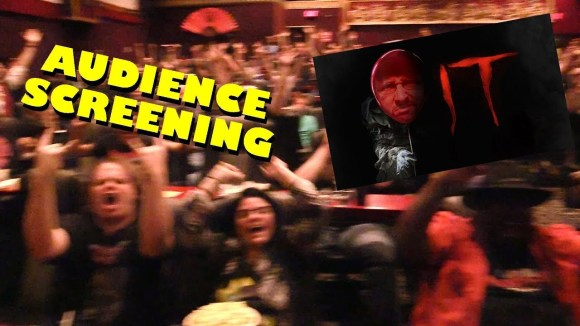 Channel Awesome - Audience screening - nostalgia critic's review of it (2017)