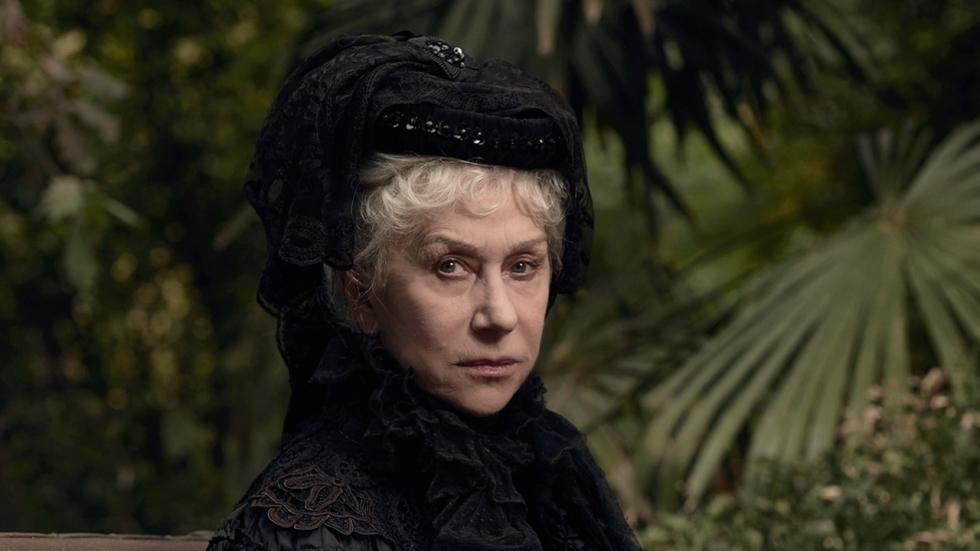 Helen Mirren vangt spoken in trailer 'Winchester'