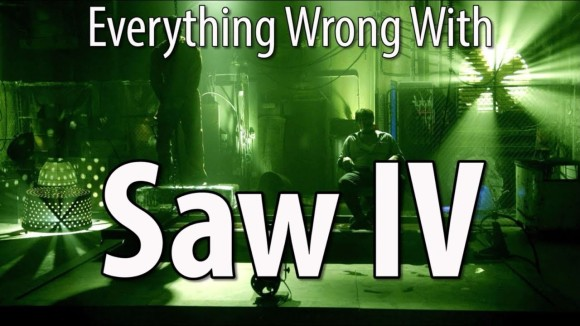 CinemaSins - Everything wrong with saw iv in 16 minutes or less