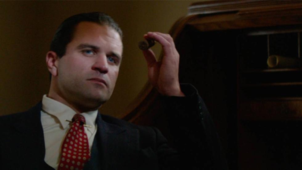 Milo Gibson is Al Capone in 'Gangsterland' trailer