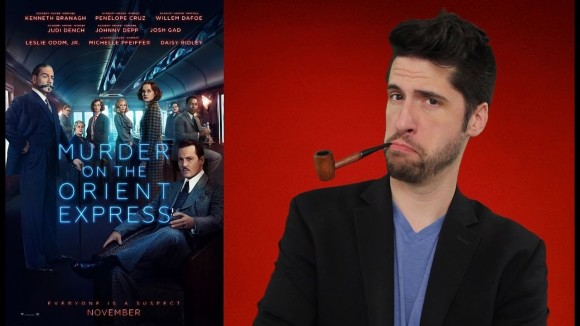 Jeremy Jahns - Murder on the orient express - movie review
