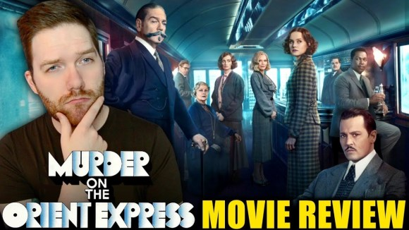 Chris Stuckmann - Murder on the orient express - movie review