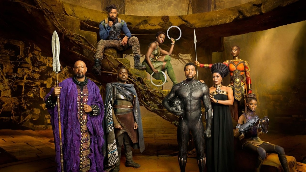 Prachtige personageposters 'Black Panther'