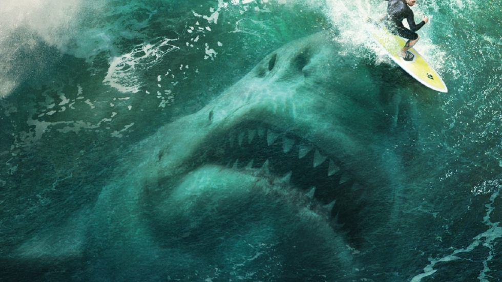 Jason Statham neemt het in 'Meg' op tegen 25 meter lange haai!