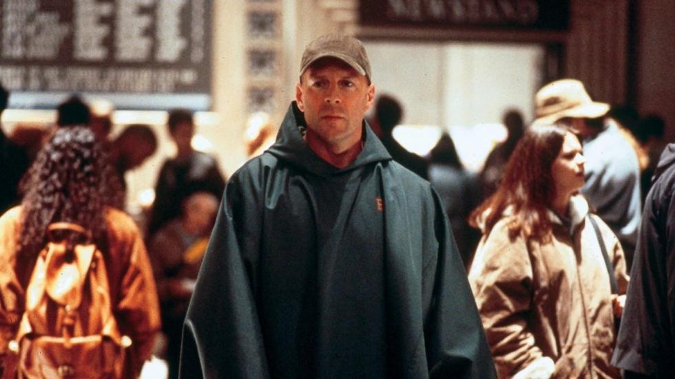 Bruce Willis en James McAvoy op nieuwe setfoto's 'Glass'