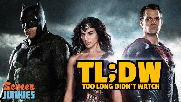 ScreenJunkies - Tl;dw - every dceu movie before justice league
