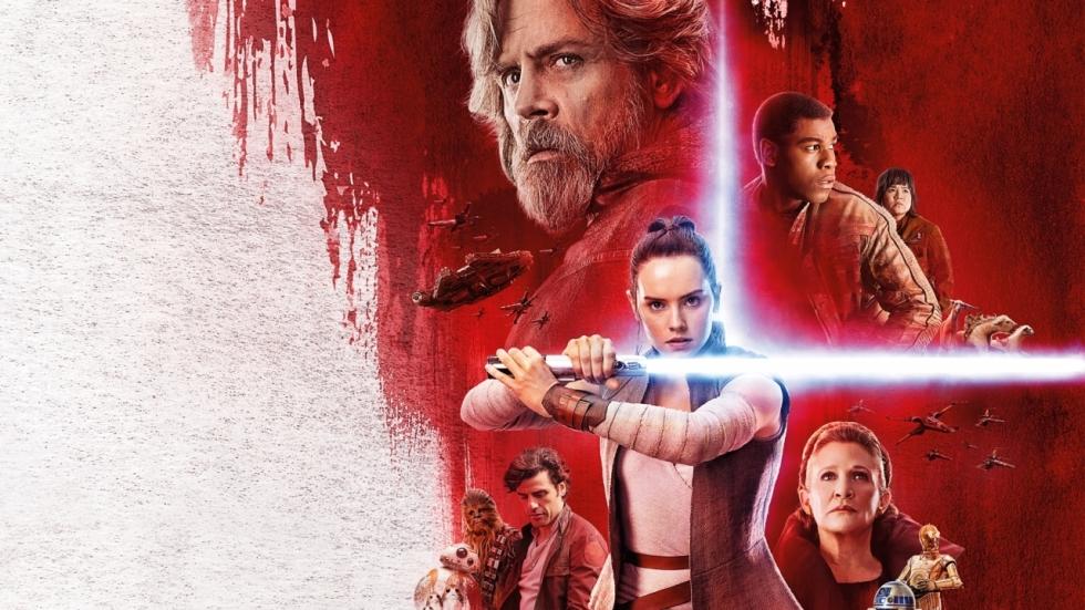 IMAX-poster 'Star Wars: The Last Jedi' verzamelt de cast