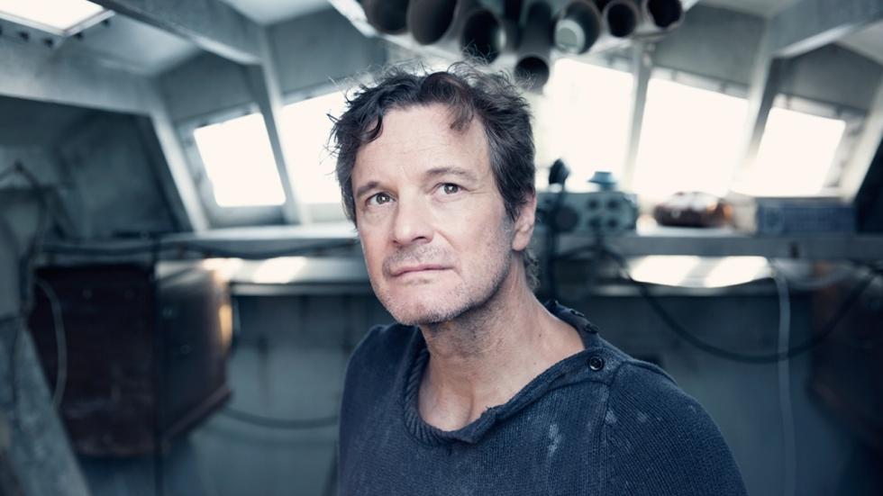 Colin Firth vs de zee in eerste trailer 'The Mercy'