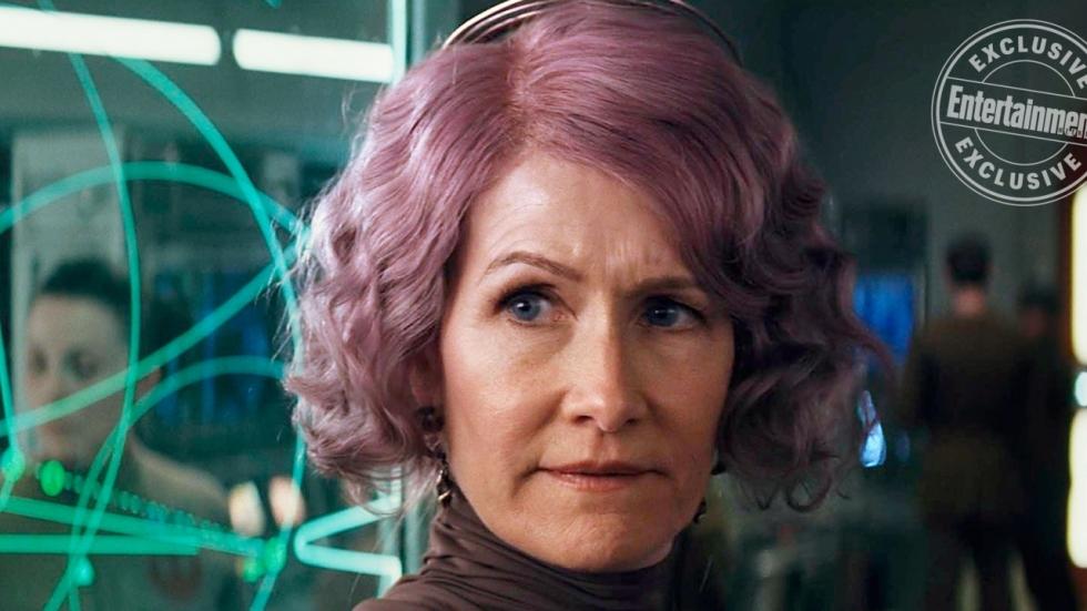 Laura Dern zorgt voor opschudding in 'Star Wars: The Last Jedi'