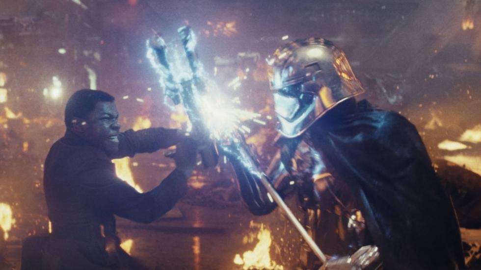 Captain Phasma is terug in spot 'Star Wars: The Last Jedi'