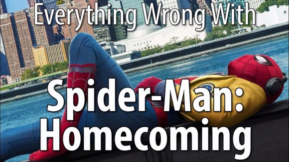 CinemaSins - Everything wrong with spider-man: homecoming