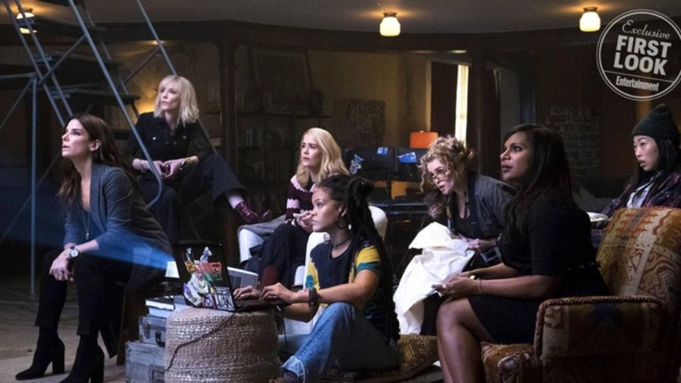 'Ocean's Eight' wordt vervolgfilm en bekijk een nieuwe foto
