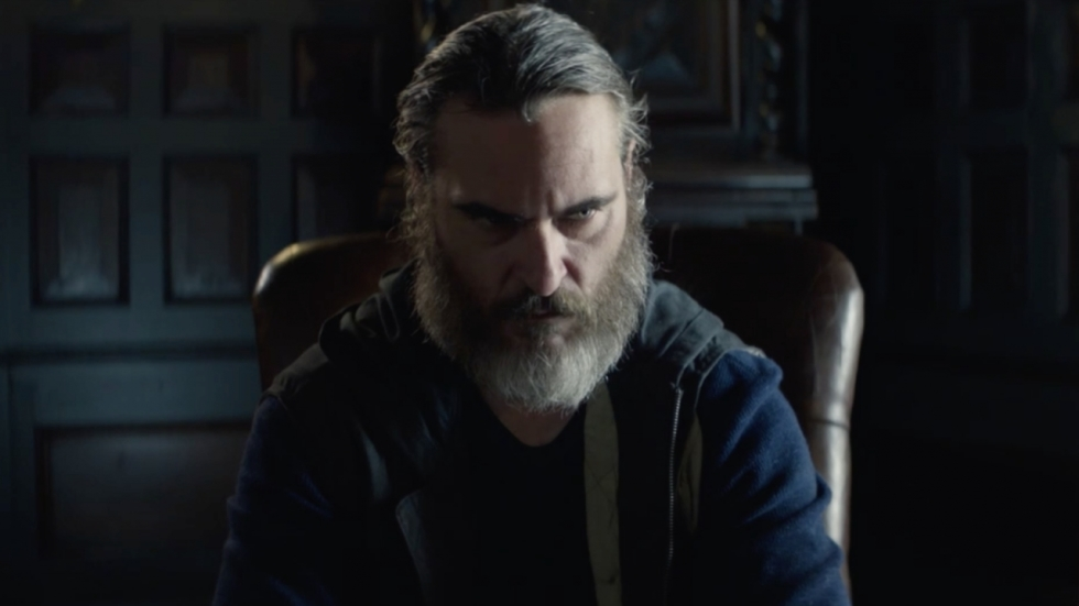 Intense, brute nieuwe trailer 'You Were Never Really Here'