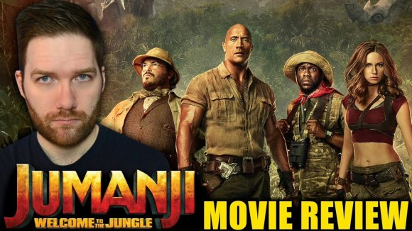 Chris Stuckmann - Jumanji: welcome to the jungle - movie review
