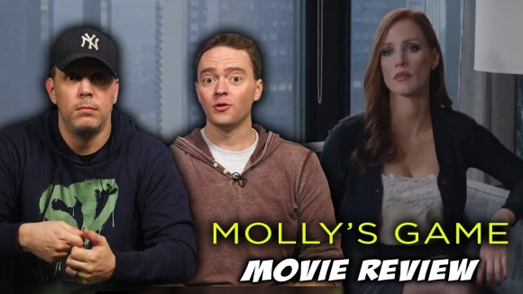 Schmoes Knows - Molly's game movie review