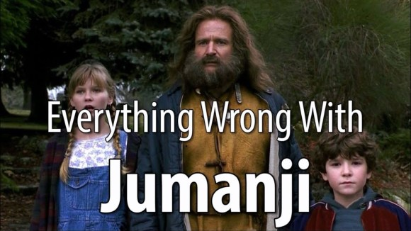 CinemaSins - Everything wrong with jumanji in 17 minutes or less