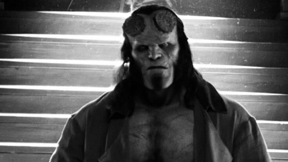 David Harbour klaar met opnames 'Hellboy'