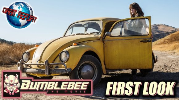 Channel Awesome - Bumblebee movie first look - orbit report