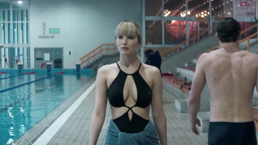 Dodelijk sexy Jennifer Lawrence op foto's en poster 'Red Sparrow'