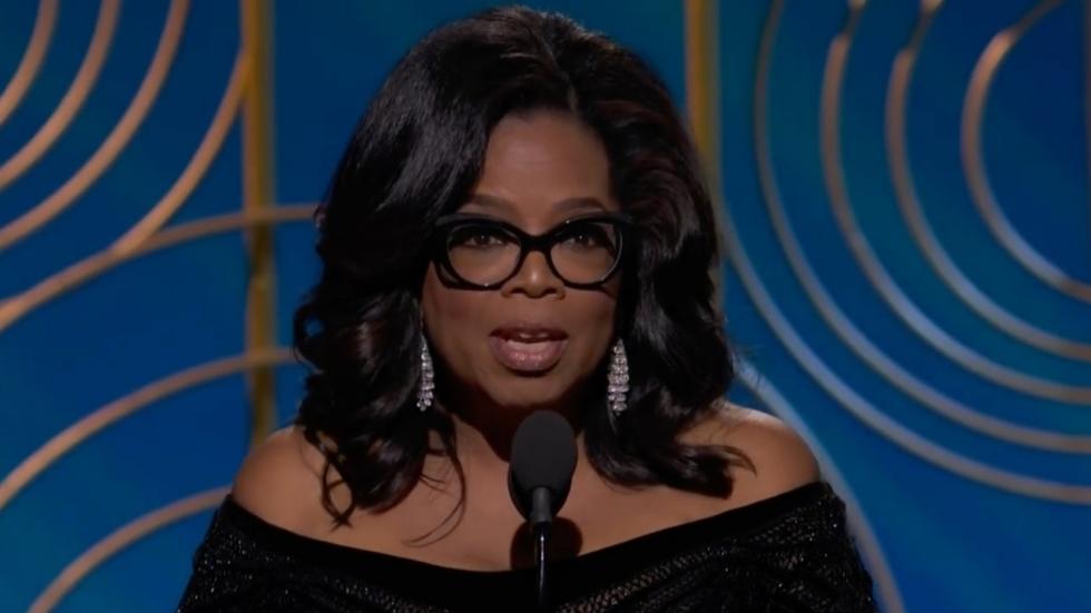 Oprah Winfrey ontroert publiek met krachtige Golden Globes-speech over #MeToo