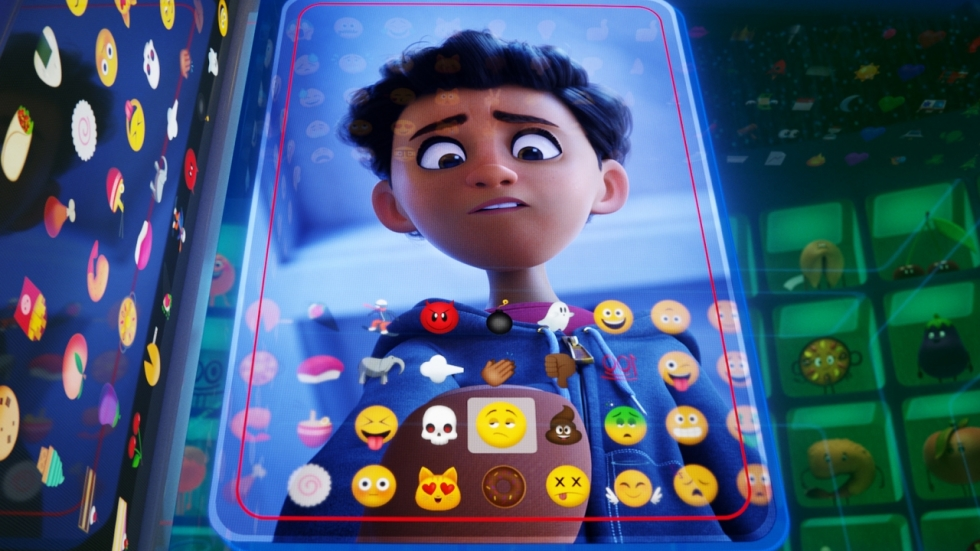 Blu-ray review 'The Emoji Movie' - < : O /