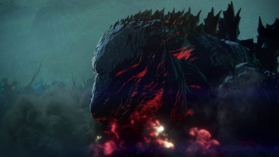 Nieuwe trailer Netflix-animatiefilm 'Godzilla: Monster Planet'