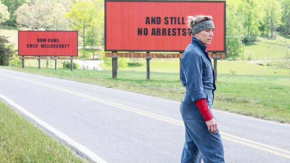 Recensie: 'Three Billboards Outside Ebbing Missouri' en nog 8 films