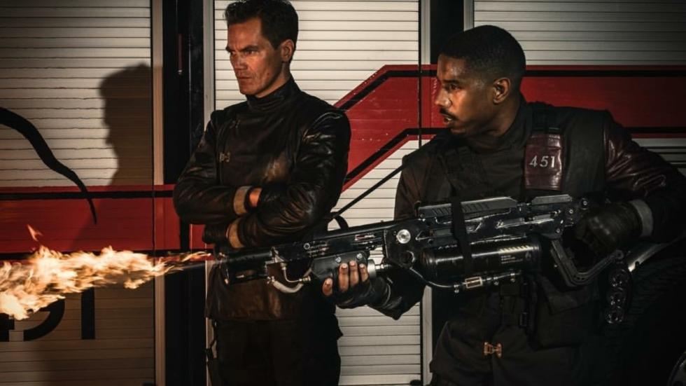 Eerste teaser HBO-film 'Fahrenheit 451' met Michael B. Jordan en Michael Shannon