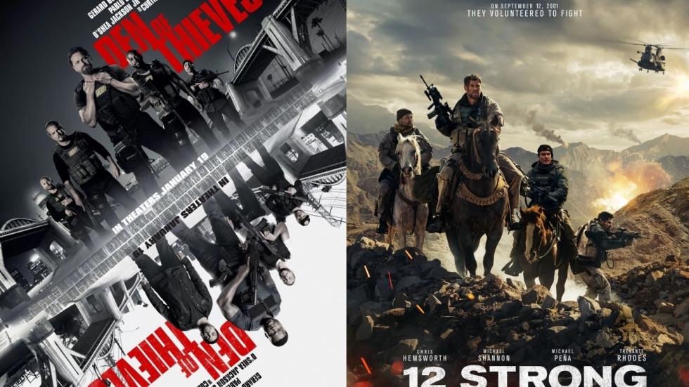 'Jumanji' al op bijna $800 miljoen (!); '12 Strong' en 'Den of Thieves' debuteren