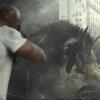 Vliegende wolf in trailer Dwayne Johnson-vehikel 'Rampage'