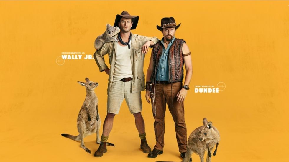 Chris Hemsworth duikt op in tweede teaser 'Dundee' en bevestigt hoofdrol