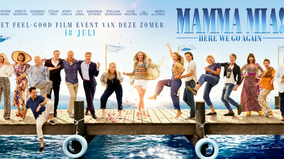 Trailer 'Mamma Mia! Here We Go Again': de feel-good film van 2018