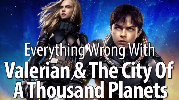 CinemaSins - Everything wrong with valerian & the city of a thousand planets