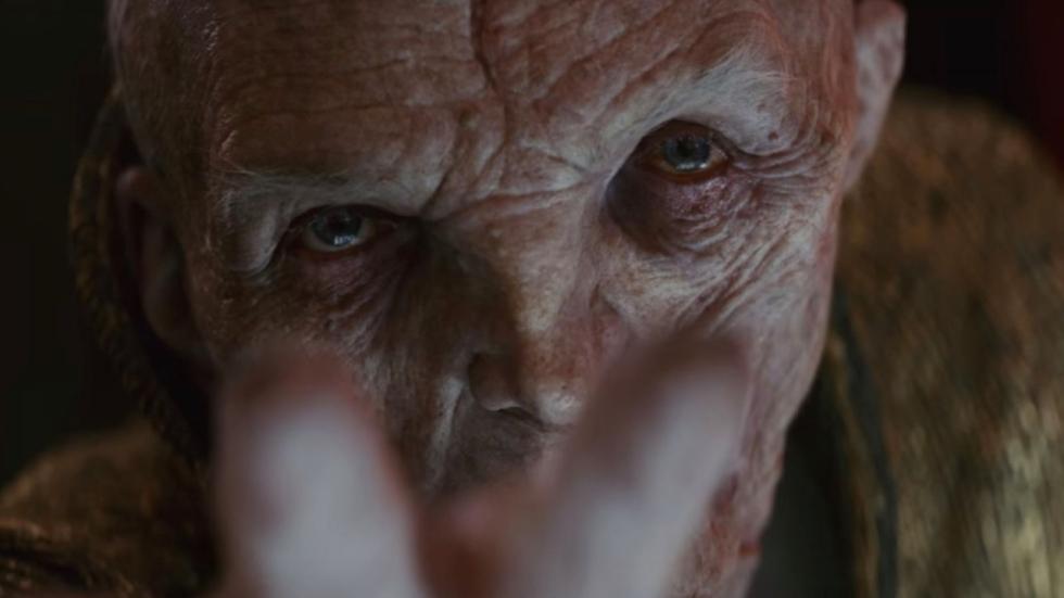 Andy Serkis over terugkeer Snoke in 'Star Wars IX'