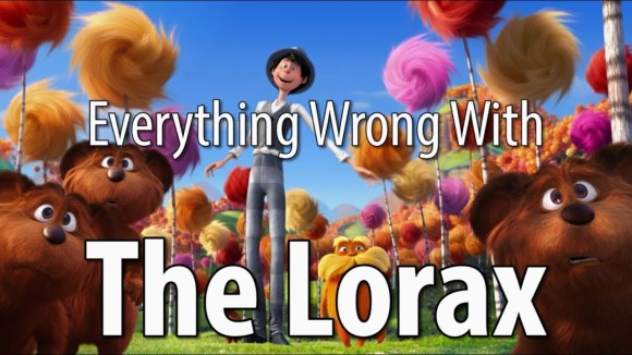 CinemaSins - Everything wrong with the lorax in 12 minutes or less