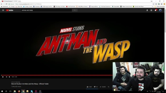 AngryJoeShow - Ant and the wasp angry trailer reaction