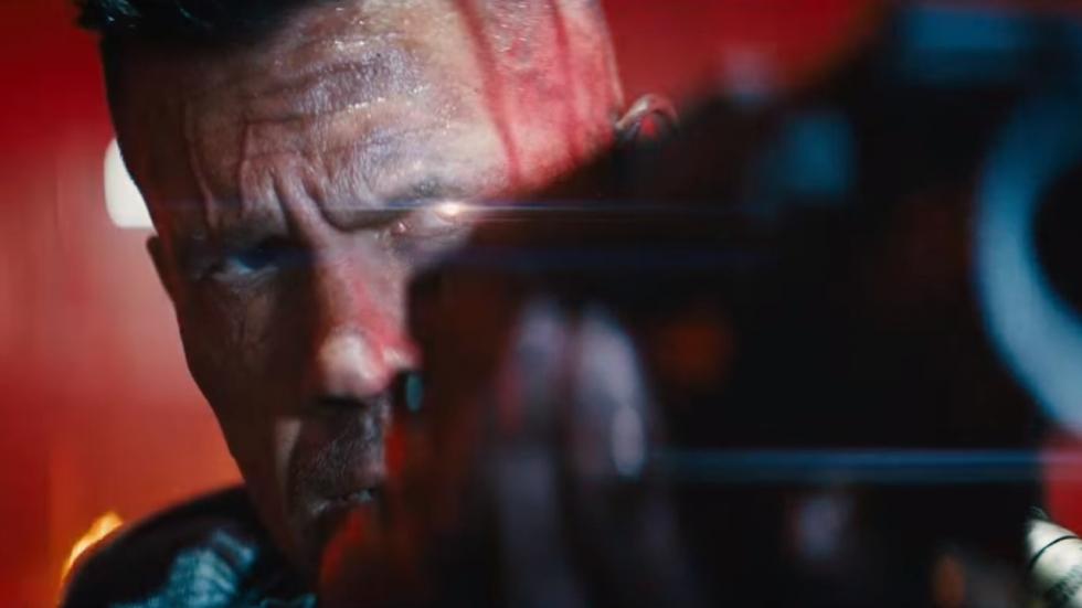 Spectaculaire beelden Cable in 'Deadpool 2' trailer!