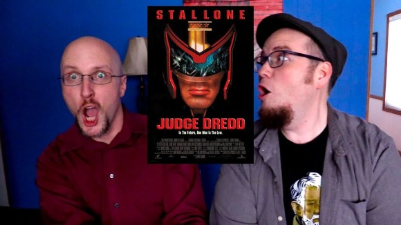 Channel Awesome - Nostalgia critic real thoughts on - judge dredd